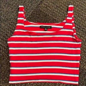 Kendall and Kylie cropped Tank